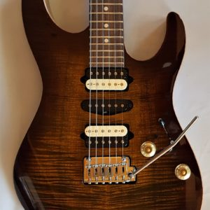 Suhr Modern Flame Maple Top Bengal Burst Electric Guitar