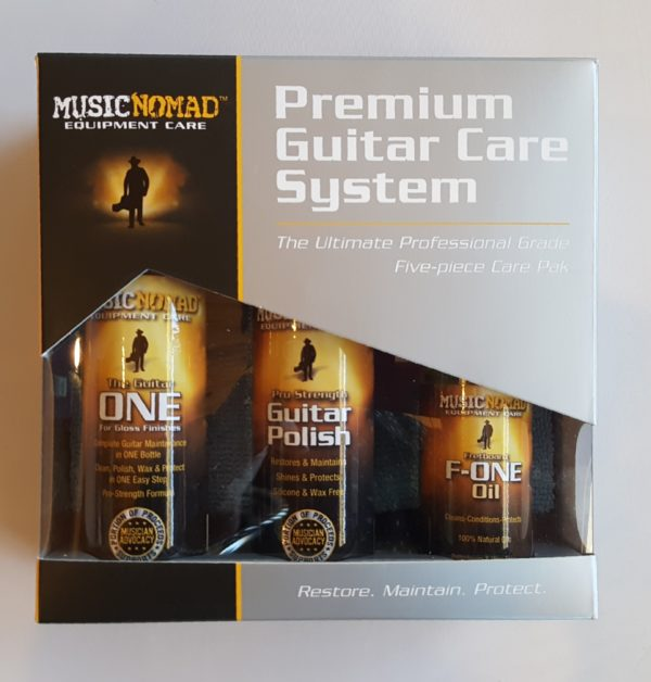 Music Nomad Equipment Care Premium Guitar Care System