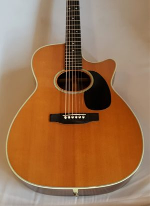 Martin MC-28 Acoustic Cutaway Guitar 1989