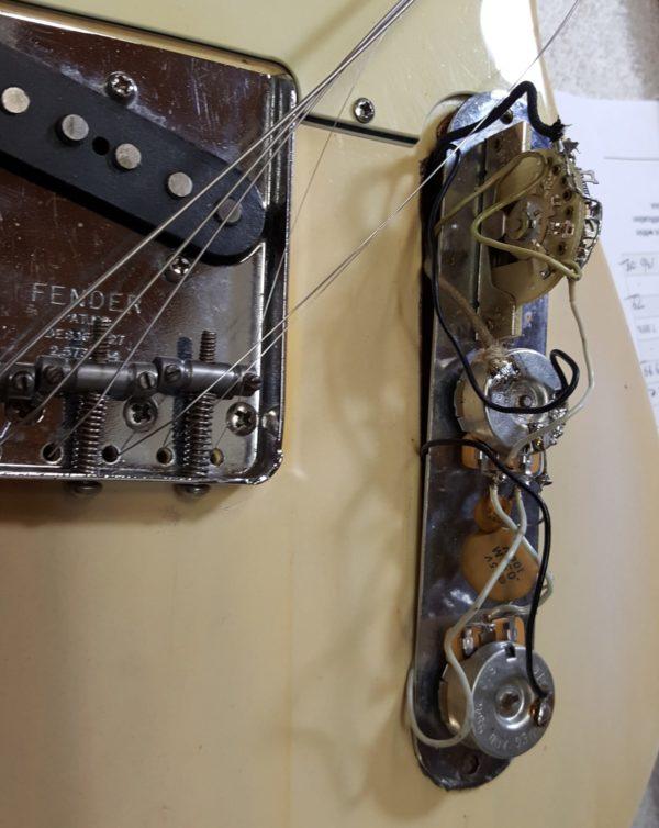 Fender Telecaster 1975 All Original Blonde