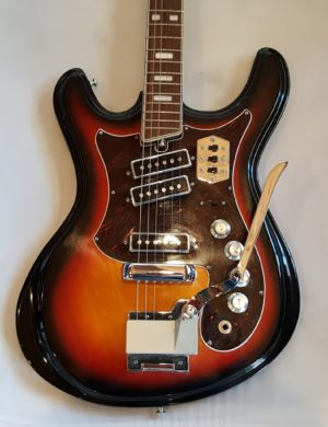 Silvertone Model 1441 Rare Vintage Electric Guitar