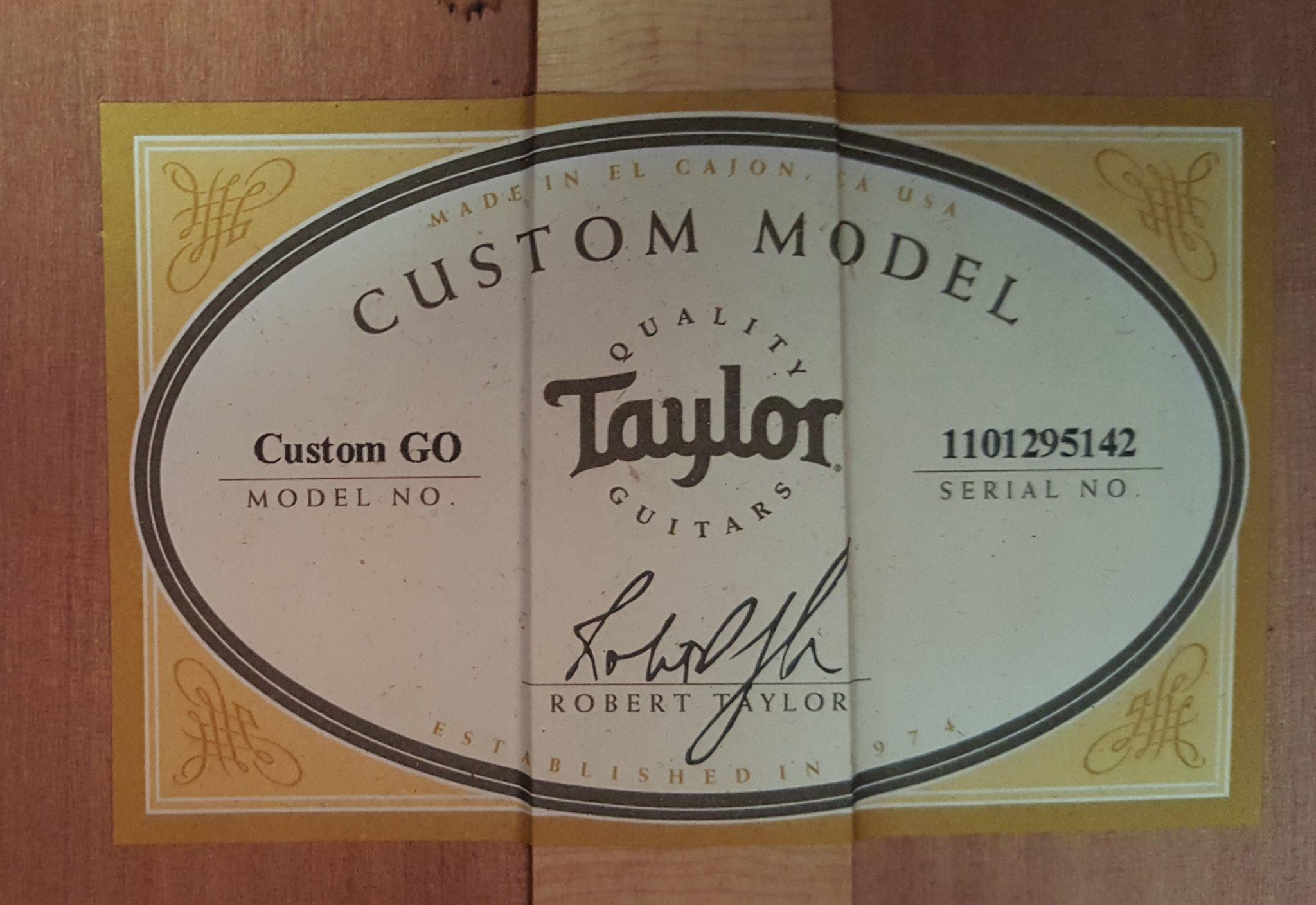 Taylor Custom Grand Orchestra Natural 2016