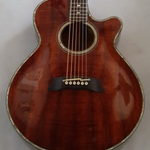 Takamine LTD 91 Acoustic Electric KOA Wood Abalone Pearl Inlays 1991