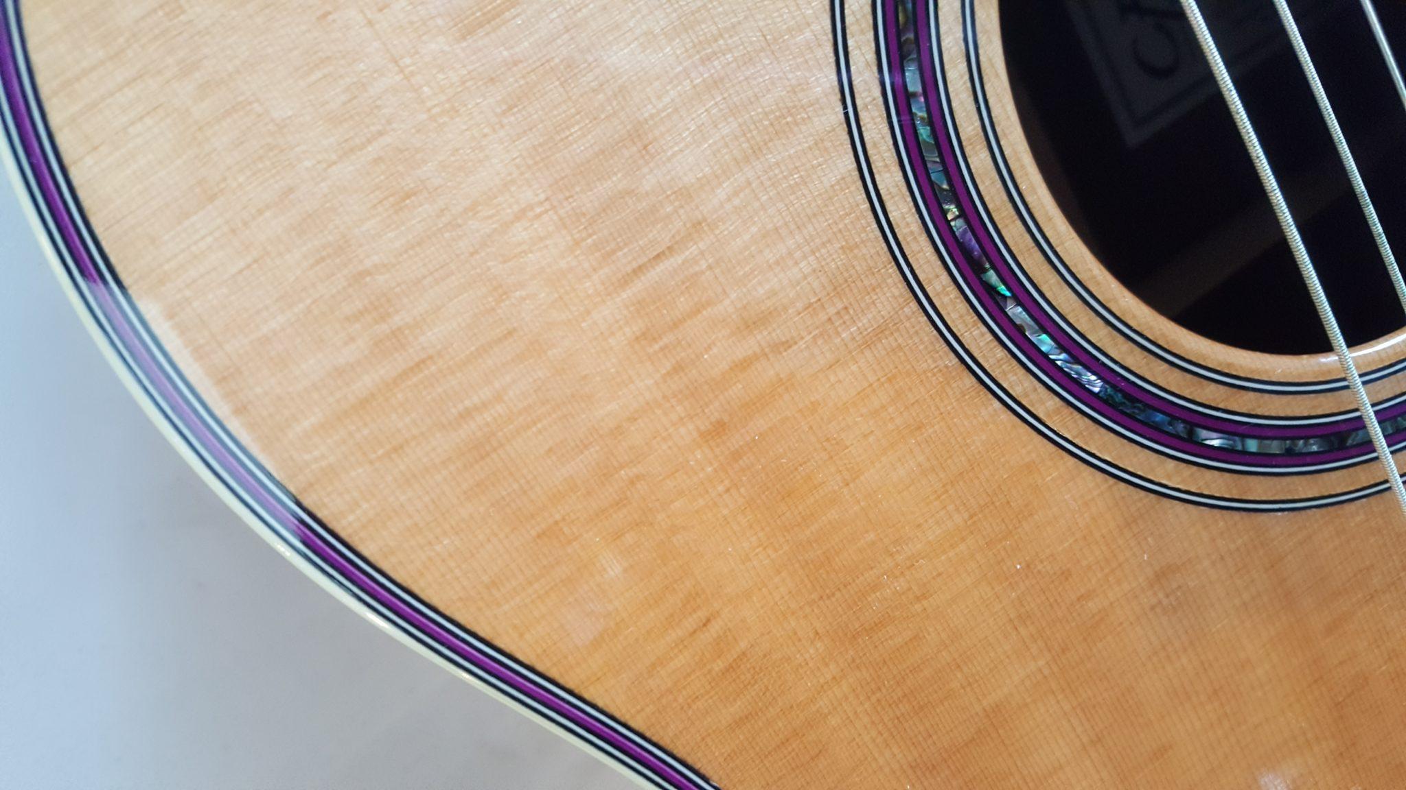 C Fox H Sonoma OM DLX Cocobolo Spruce Acoustic Guitar