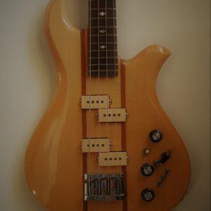 BC Rich Eagle Bass Natural 1978