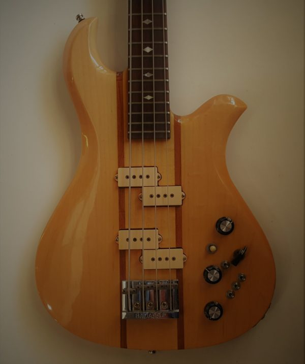 BC Rich Eagle Bass Natural 1978