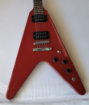Gibson Flying V 1985 Red