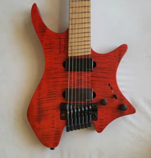 Standberg Boden 7 Custom Shop Headless Custom 7 String Guitar