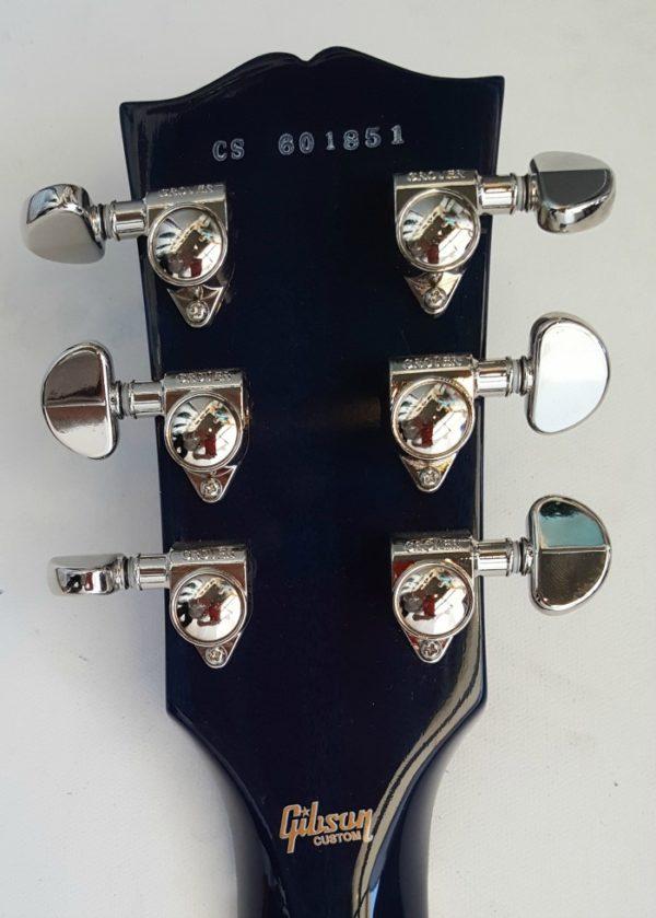 Gibson Les Paul Custom Pro Aqua Blue Flametop Mint w OHSC 2016