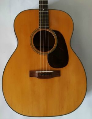 Martin 0-18T Tenor Acoustic Guitar 1953
