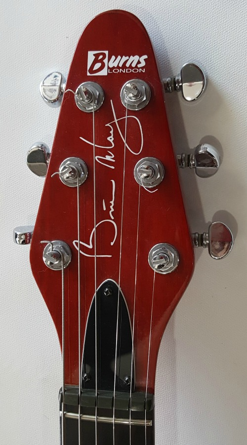 Burns Brian May Signature Special Red