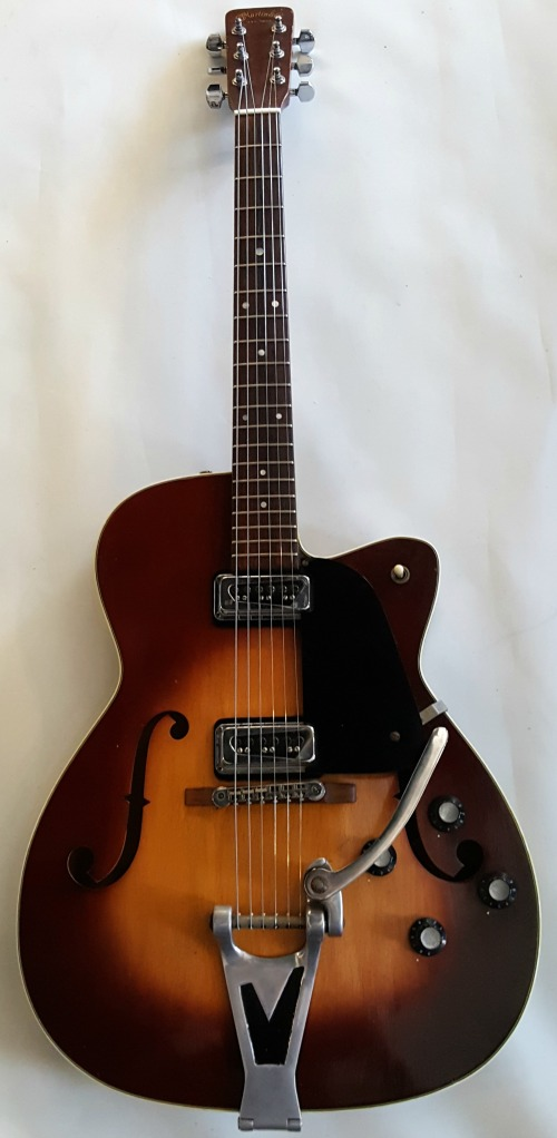 Martin F-55 1962 Rare Vintage Thinline Hollow Body Electric