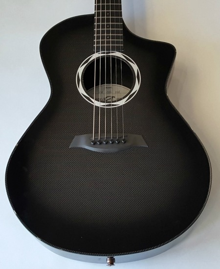Composite Acoustics OX CBB ELE Acoustic-Electric Guitar Carbon Burst