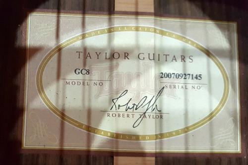 Taylor GC8 2007